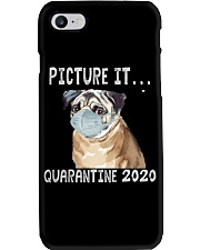 Picture It Quarantine 2020 pug Phone Case thumbnail