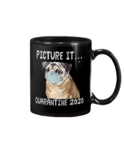 Picture It Quarantine 2020 pug Mug thumbnail