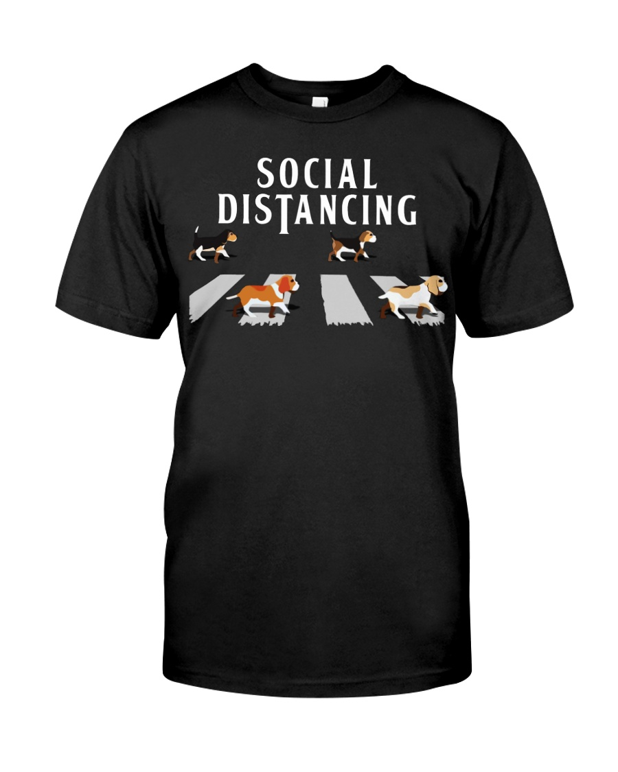 Beagle Social Distancing Classic T-Shirt