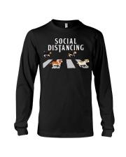 Beagle Social Distancing Long Sleeve Tee thumbnail