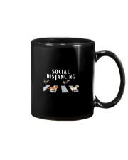 Beagle Social Distancing Mug thumbnail
