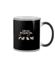 Beagle Social Distancing Color Changing Mug thumbnail