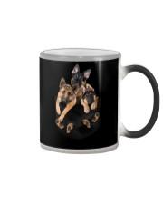 german shepherd T-shirt gift for friend Color Changing Mug thumbnail