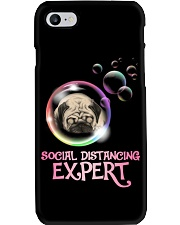 Social Distancing Expert pug 2 Phone Case thumbnail