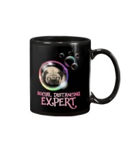 Social Distancing Expert pug 2 Mug thumbnail