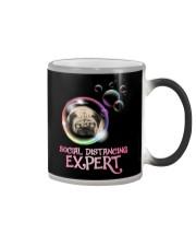 Social Distancing Expert pug 2 Color Changing Mug thumbnail