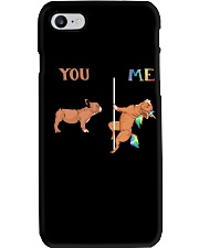 You Me French Bulldog Phone Case tile