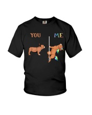 You Me French Bulldog Youth T-Shirt tile