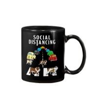 Bulldog Social Distancing Mug thumbnail