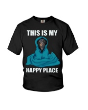 This Is My Happy Place dachshund2 Youth T-Shirt thumbnail