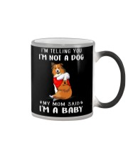 I'm Telling You I'M Not A Dog Shetland Sheepdogs Color Changing Mug thumbnail
