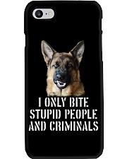 I Only Bite Stupid Peo Ple German Shepherd Crimina Phone Case thumbnail