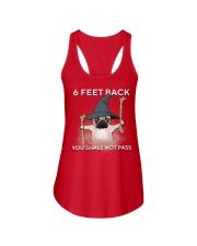 pug 6 feet back2 Ladies Flowy Tank thumbnail