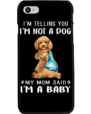 Poodle I'm Telling You I'm Not A Dog Phone Case thumbnail