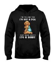 Poodle I'm Telling You I'm Not A Dog Hooded Sweatshirt thumbnail