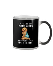 Poodle I'm Telling You I'm Not A Dog Color Changing Mug thumbnail