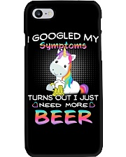 Love Beer Unicorn Beer T-shirt Phone Case thumbnail