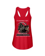 German Shepherd Ladies Flowy Tank thumbnail