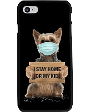I Stay Home For My Kids Yorkshire Phone Case thumbnail