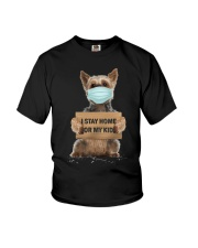 I Stay Home For My Kids Yorkshire Youth T-Shirt thumbnail