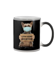 I Stay Home For My Kids Yorkshire Color Changing Mug thumbnail