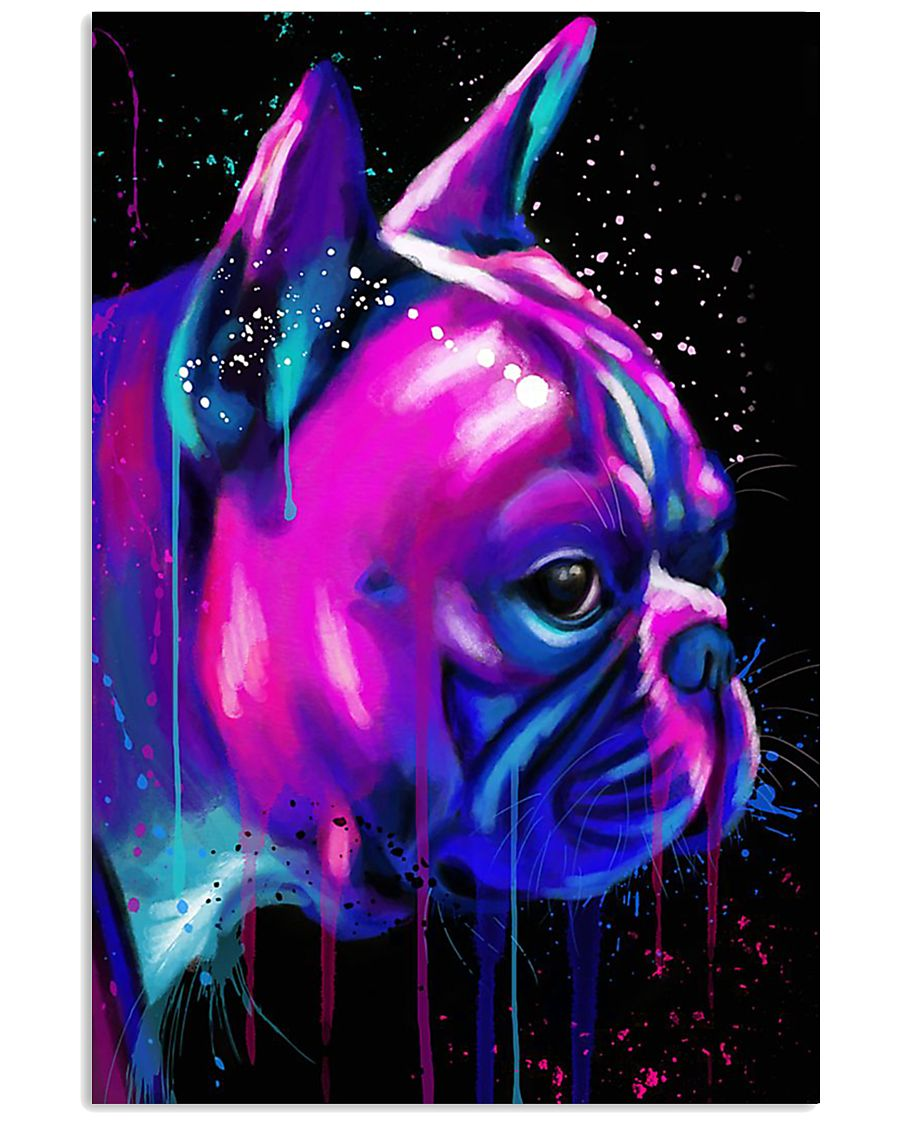 French bulldog 24x36 Poster