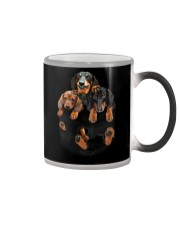 Dachshund T-shirt Cute Color Changing Mug tile
