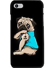 I Love Mom Pug Phone Case thumbnail