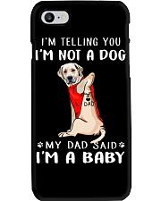 Labrador Retriever I'm Telling You I'm Not A Dog Phone Case thumbnail