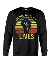 Latinos For Black Lives Crewneck Sweatshirt thumbnail