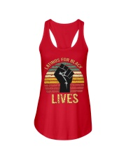 Latinos For Black Lives Ladies Flowy Tank thumbnail