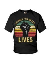 Latinos For Black Lives Youth T-Shirt thumbnail