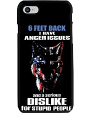 6 Feet Back I Have Anger Issues And feet back 1 Phone Case thumbnail