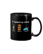 My Quarantine Routine dachshund3 Mug thumbnail