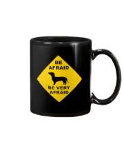 Be afreid be very afaid dachshund Mug thumbnail