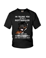 I'm telling you i'm not a rottweiler Youth T-Shirt thumbnail