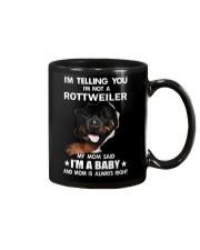 I'm telling you i'm not a rottweiler Mug thumbnail