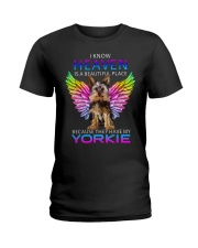 Yorkshire Terrier T-shirt Best gift for friend Ladies T-Shirt tile