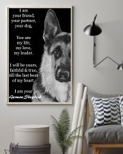 German I Am Your Friend Your Partner Your Dog  11x17 Poster lifestyle-poster-1