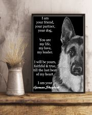 German I Am Your Friend Your Partner Your Dog  11x17 Poster lifestyle-poster-3