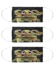 Turtle Cloth Face Mask - 3 Pack front