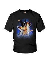 Frenchie Titanic Funny Youth T-Shirt thumbnail