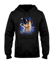 Frenchie Titanic Funny Hooded Sweatshirt thumbnail