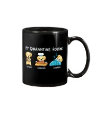 My Quarantine Routine Labrador Retriever3 Mug thumbnail