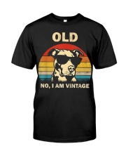 PITBULL old 2 Classic T-Shirt front