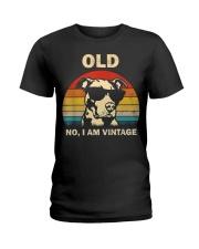 PITBULL old 2 Ladies T-Shirt thumbnail