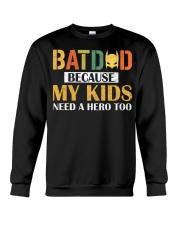 Bat dad Crewneck Sweatshirt thumbnail