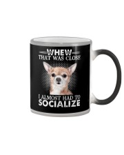 Whew That Was Close I Almost Had To Chihuahua Color Changing Mug thumbnail