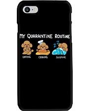 My Quarantine Routine poodle3 Phone Case thumbnail