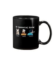 My Quarantine Routine frenchie4 Mug thumbnail